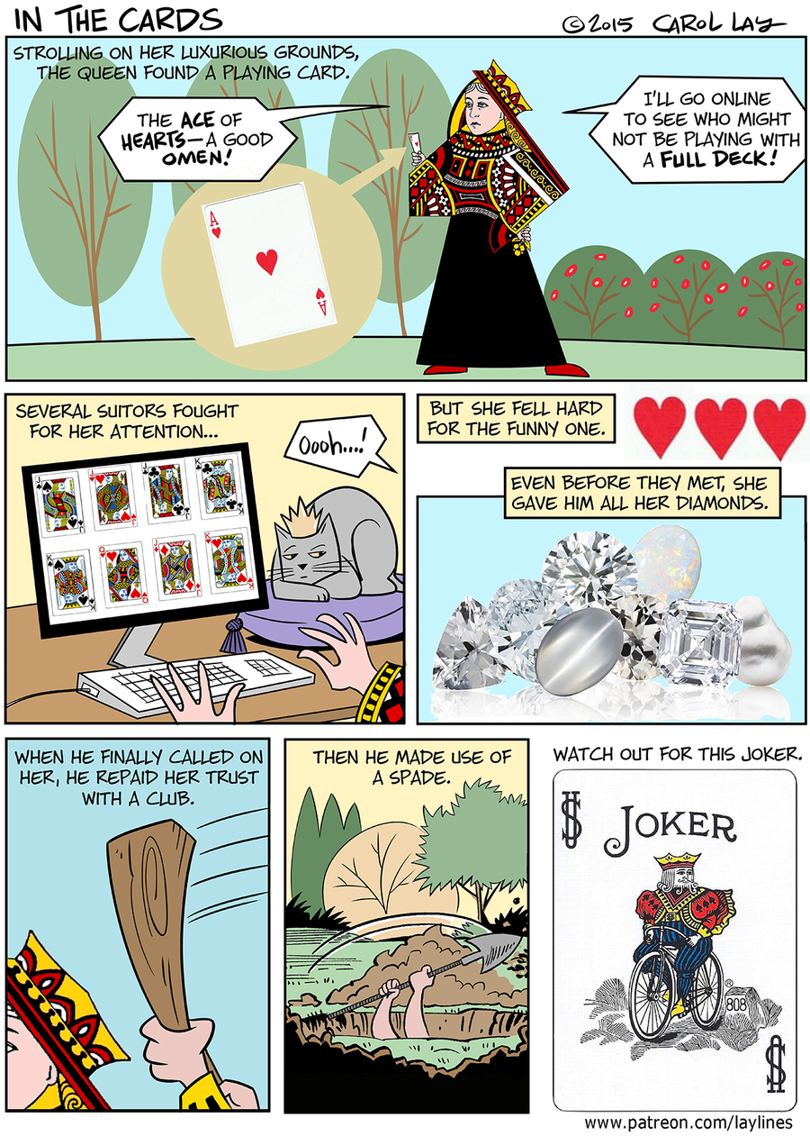 Lay Lines Comic Strip for January 17, 2016