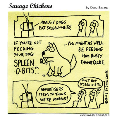 Savage Chickens Comic Strip for May 13, 2015