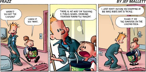 Frazz on Sunday November 1, 2009 Comic Strip