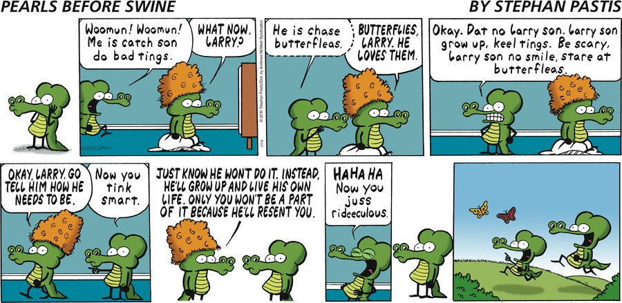 Pearls Before Swine Comic Strip for July 14, 2019