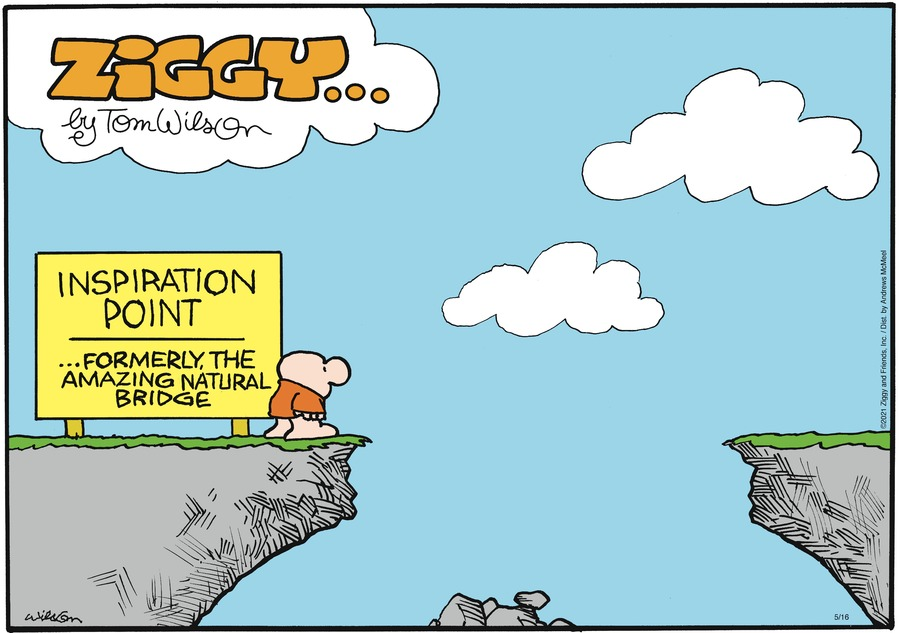 Ziggy Comic Strip for May 16, 2021