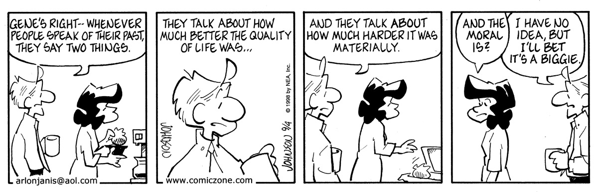 Arlo and Janis Comic Strip for September 04, 1998