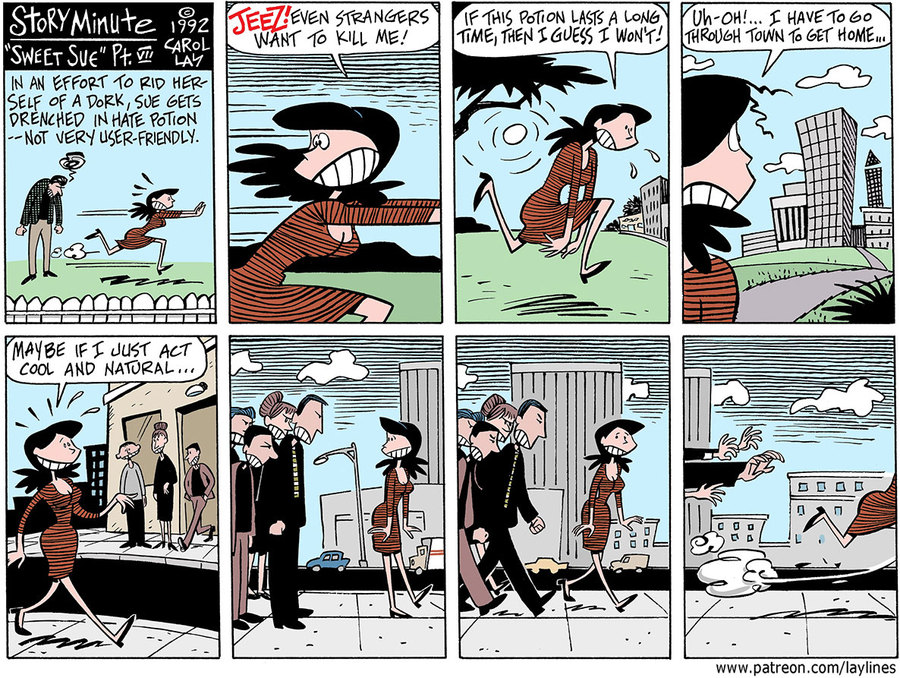Lay Lines Comic Strip for April 18, 2018