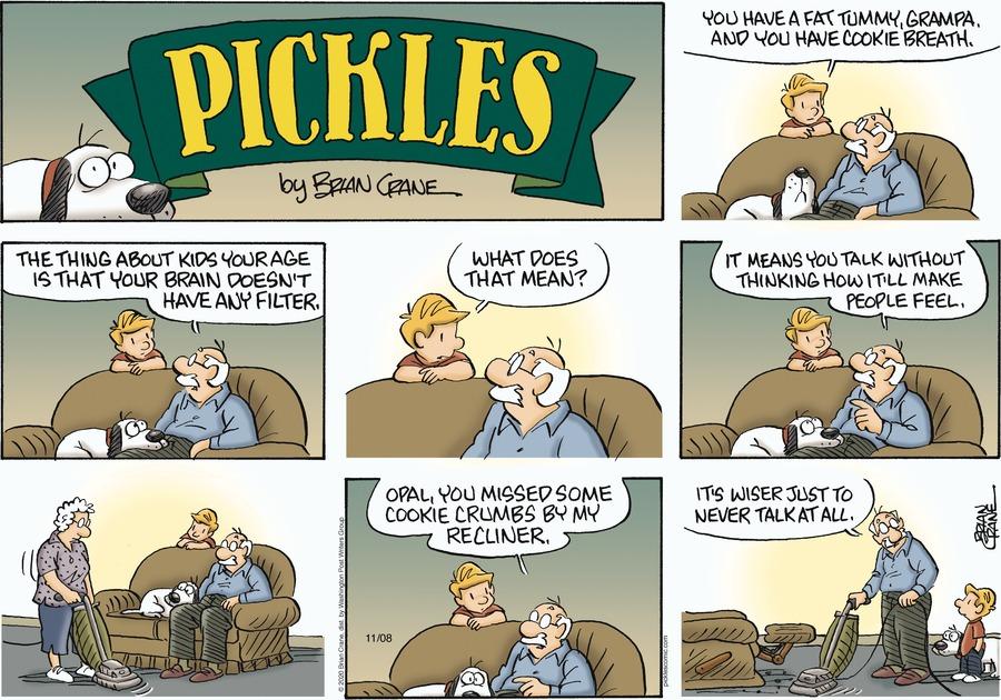 Pickles Comic Strip for November 08, 2020