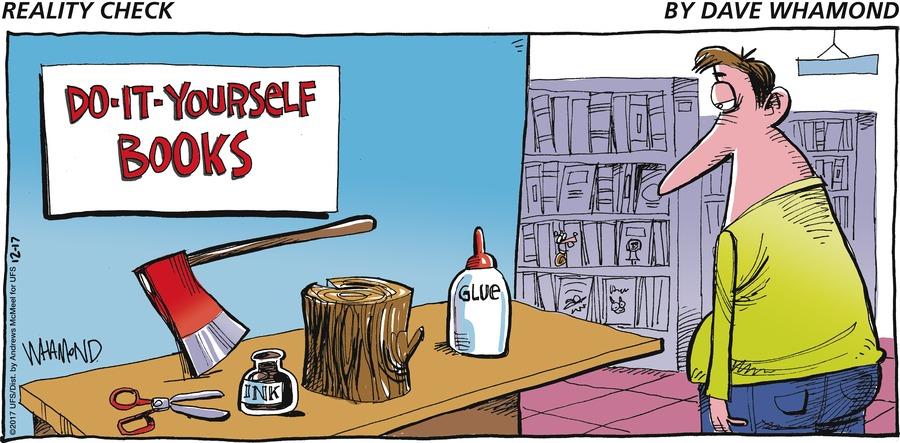 Reality Check for Dec 17, 2017 Comic Strip