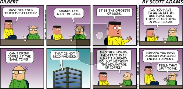 Dilbert on Sunday May 17, 2020 Comic Strip