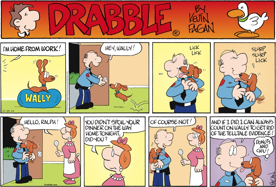Drabble Comic Strip for December 29, 2013