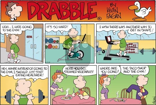 Drabble on Sunday May 17, 2020 Comic Strip