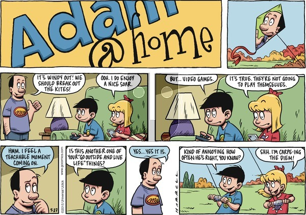 Adam@Home on Sunday September 27, 2015 Comic Strip