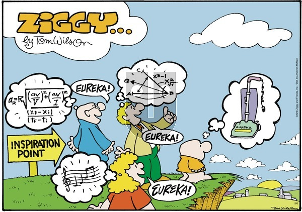 Ziggy on May 6, 2018 Comic Strip