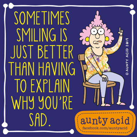 Aunty Acid by Ged Backland for September 09, 2019