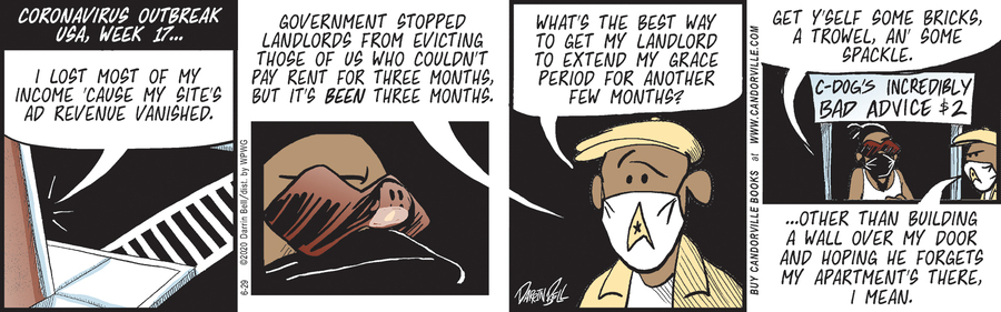 Candorville Comic Strip for June 29, 2020