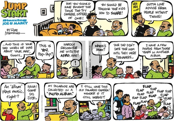JumpStart on Sunday February 17, 2019 Comic Strip