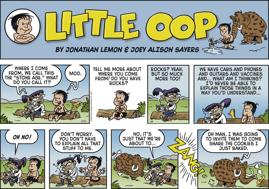 Alley Oop Comic Strip for February 23, 2020