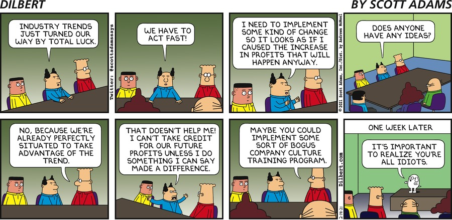 Industry Trends - Dilbert by Scott Adams