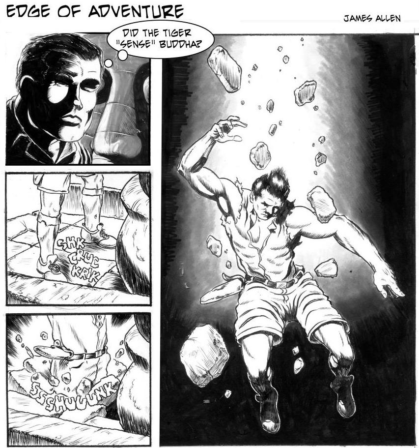 Edge of Adventure Comic Strip for September 29, 2019