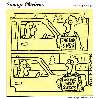 Savage Chickens Comic Strip for May 21, 2015