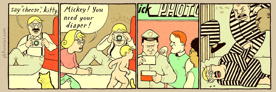 Perry Bible Fellowship by Nicholas Gurewitch on Tue, 28 Jul 2020