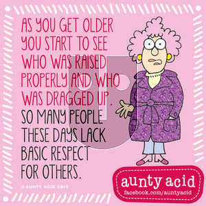 Aunty Acid on Thursday September 12, 2019 Comic Strip