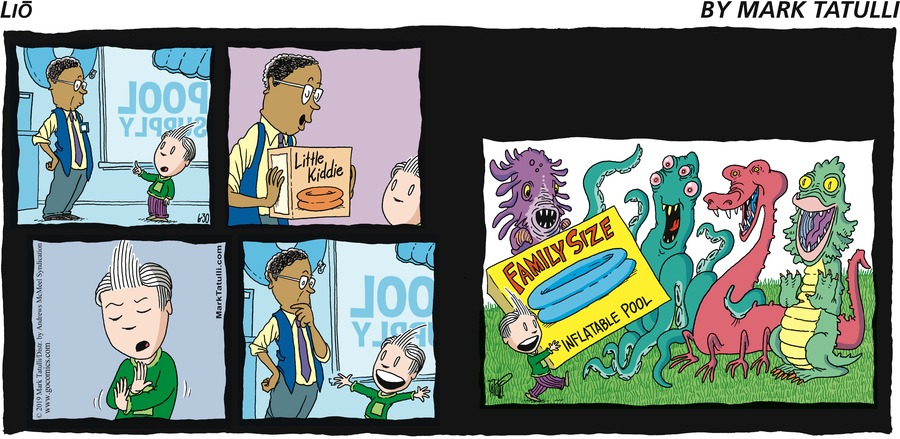 Lio Comic Strip for June 30, 2019