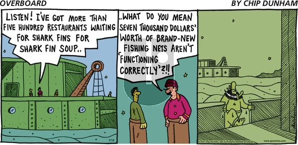 Overboard on Sunday July 18, 2021 Comic Strip