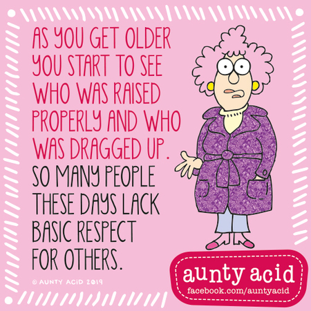 Aunty Acid by Ged Backland for September 12, 2019