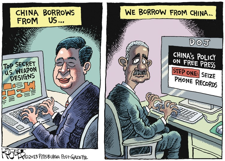 Rob Rogers Comic Strip for June 02, 2013
