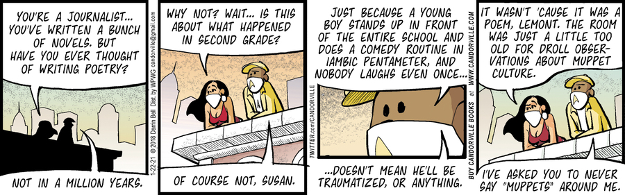Candorville Comic Strip for January 22, 2021