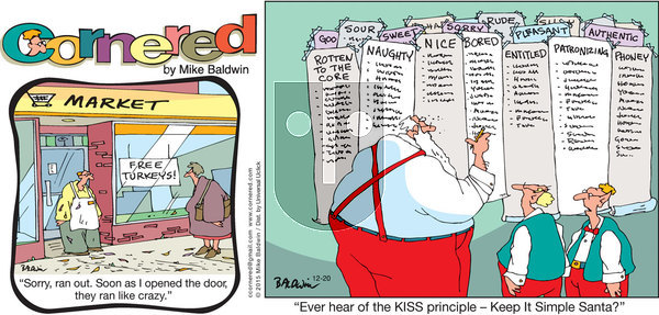 Cornered on Sunday December 20, 2015 Comic Strip