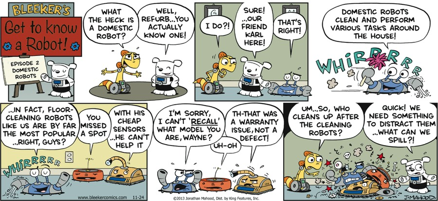 Bleeker: The Rechargeable Dog Comic Strip for November 22, 2020