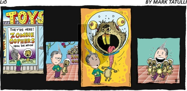 Lio on Sunday May 21, 2017 Comic Strip