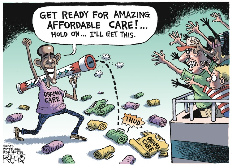 Rob Rogers Comic Strip for October 20, 2013