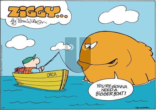 Ziggy on Sunday October 8, 2017 Comic Strip