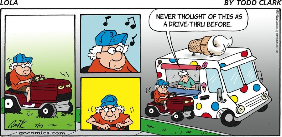 Lola Comic Strip for July 19, 2020