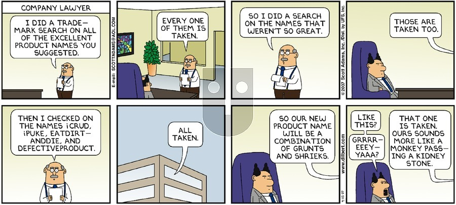 Purchase Comic Strip for 2007-04-15