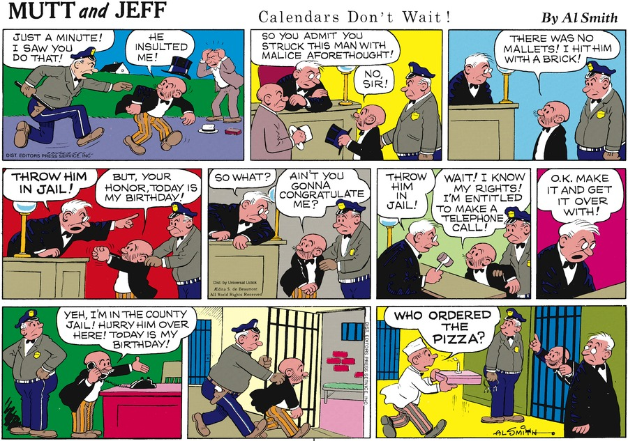 Mutt & Jeff Comic Strip for May 05, 2013