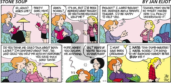 Stone Soup on Sunday October 18, 2020 Comic Strip