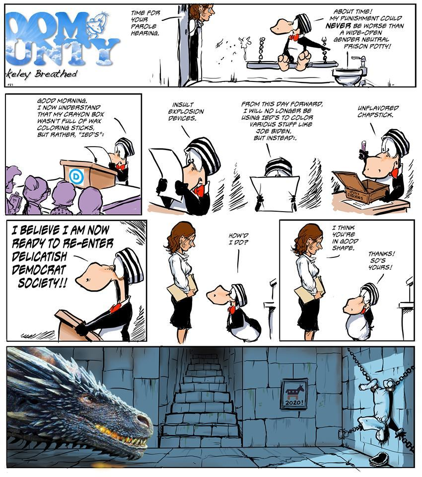 Bloom County 2019 by Berkeley Breathed for June 18, 2019