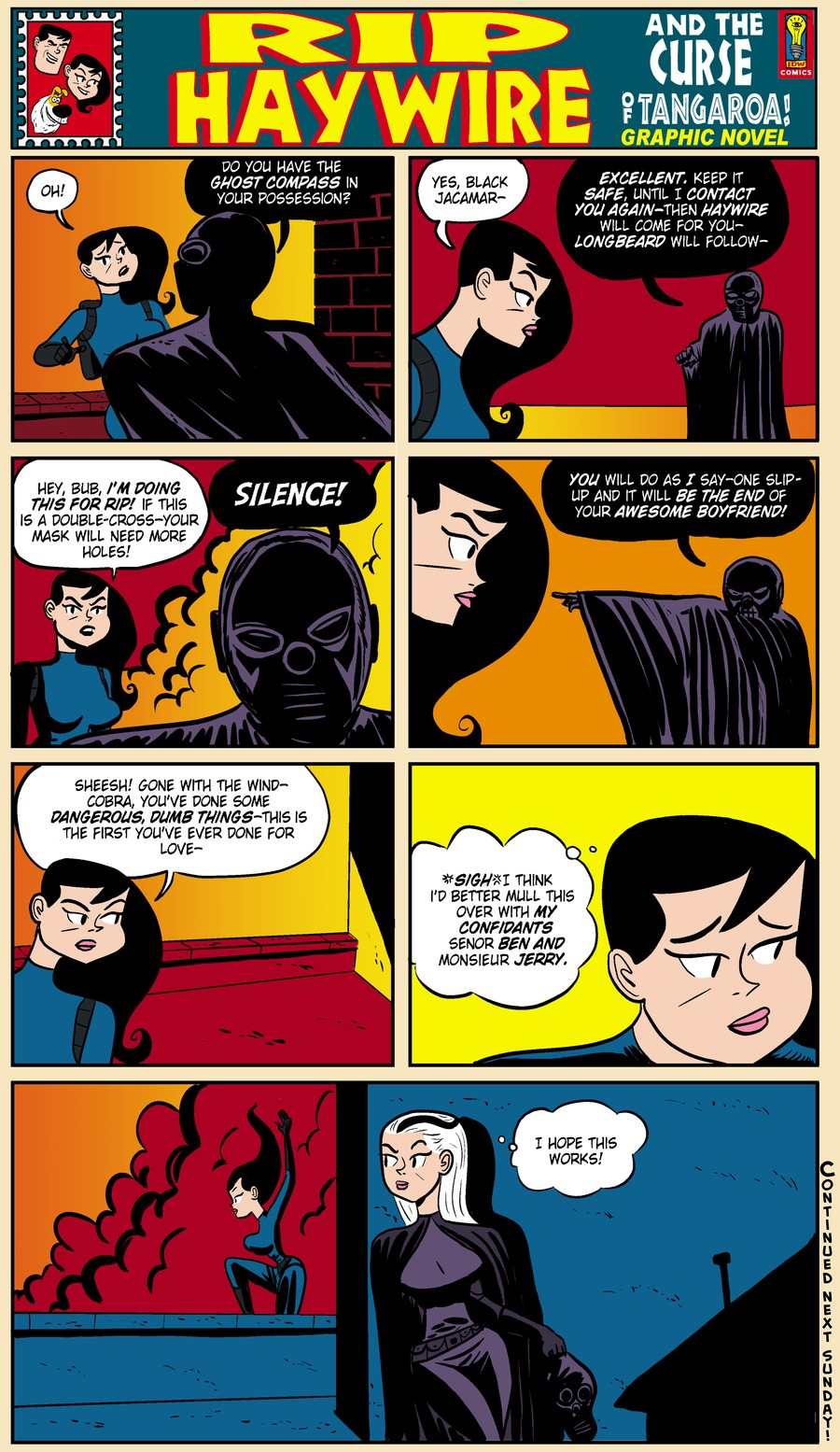 Rip Haywire Comic Strip for February 02, 2014