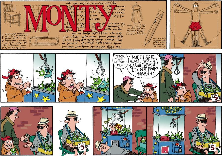 Monty for Feb 26, 2012 Comic Strip
