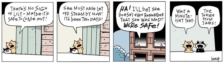 Ten Cats Comic Strip for April 20, 2019