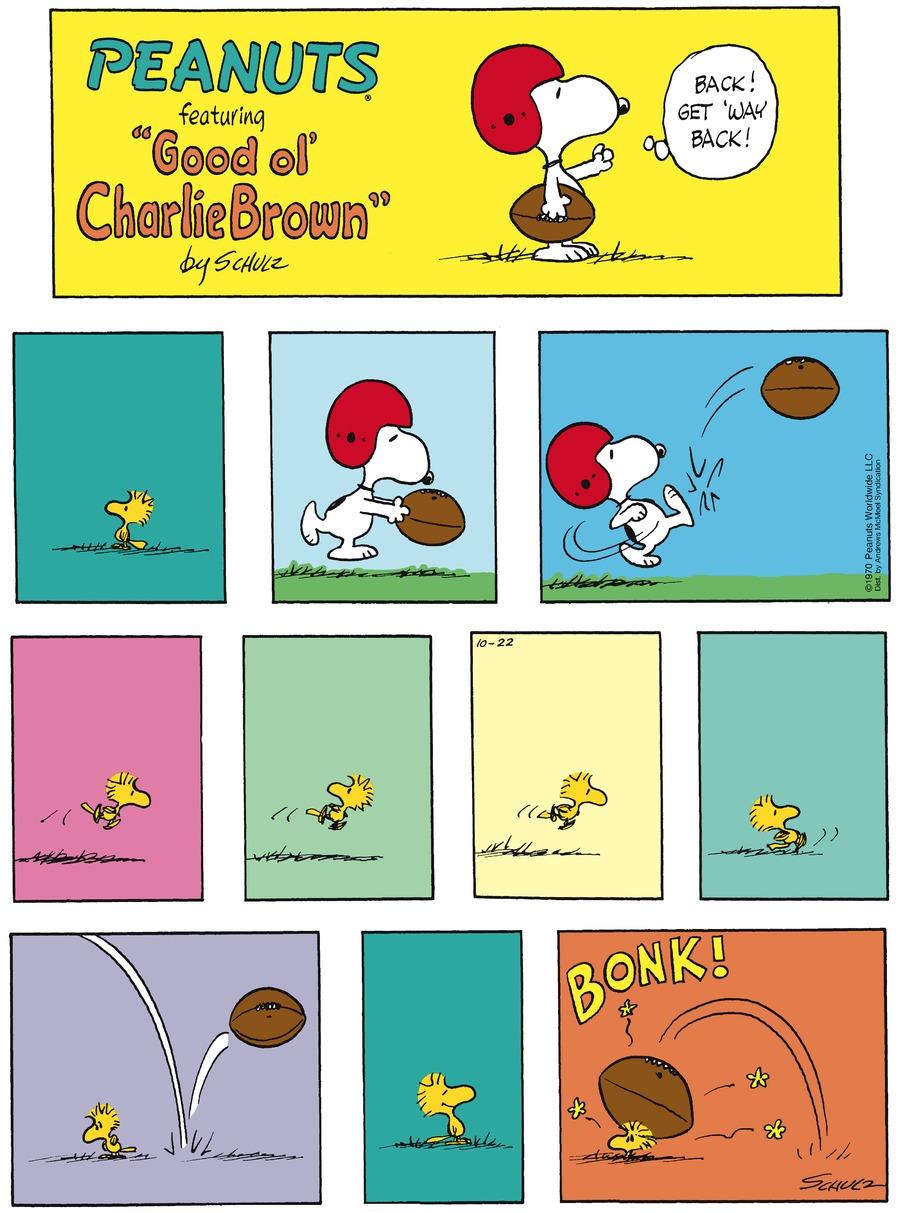 Peanuts for Oct 22, 2017 Comic Strip