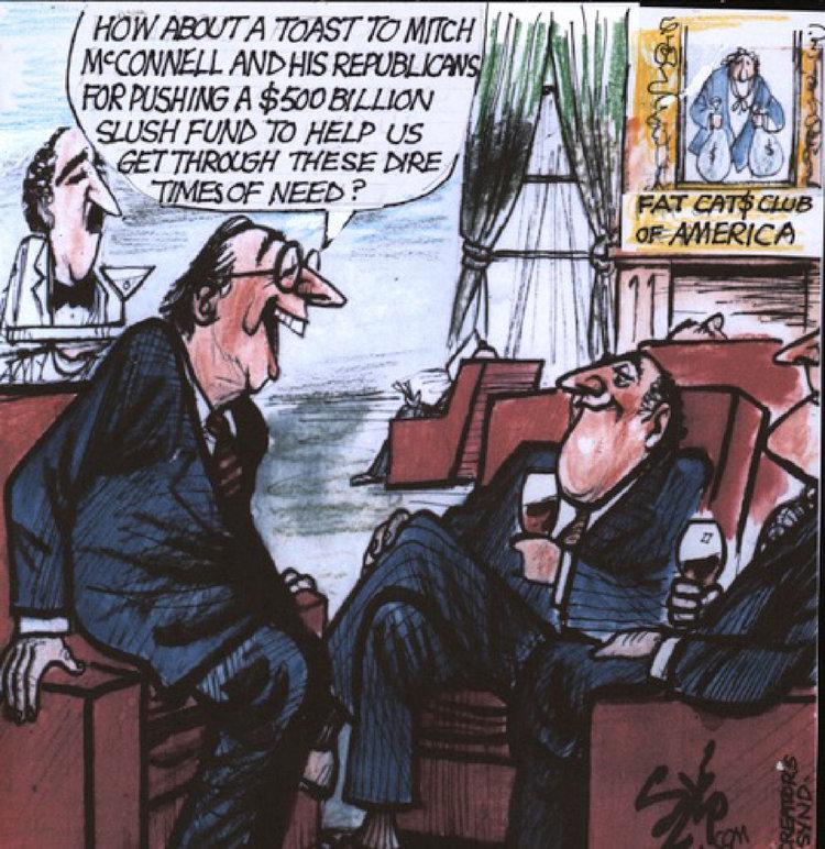 Paul Szep Comic Strip for March 26, 2020