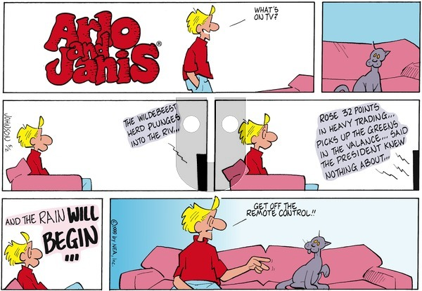 Arlo and Janis on Sunday May 2, 1999 Comic Strip