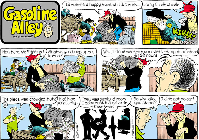 Gasoline Alley Comic Strip for July 12, 2020