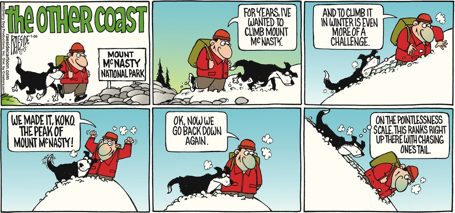 The Other Coast for Jan 6, 2013 Comic Strip