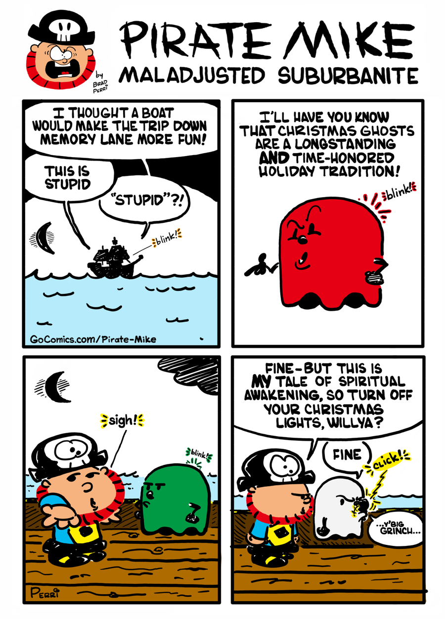 Pirate Mike by Brad Perri on Wed, 18 Dec 2019