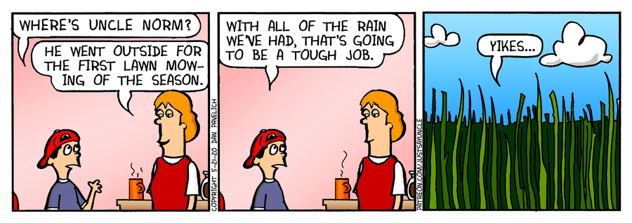 Just Say Uncle Comic Strip for May 21, 2020