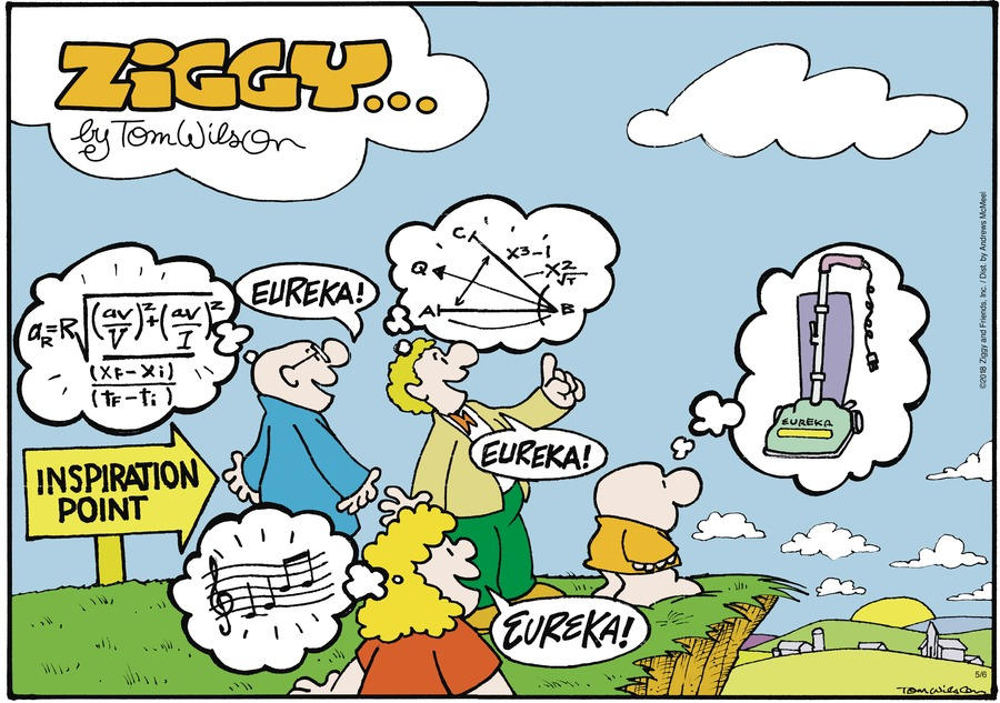 Ziggy Comic Strip for May 06, 2018