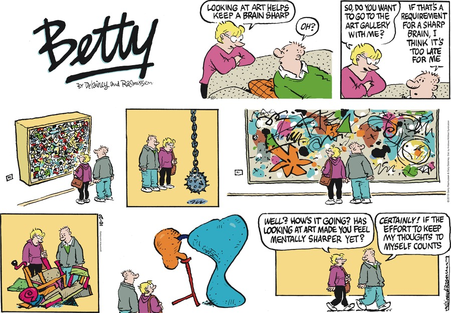Betty Comic Strip for October 20, 2019